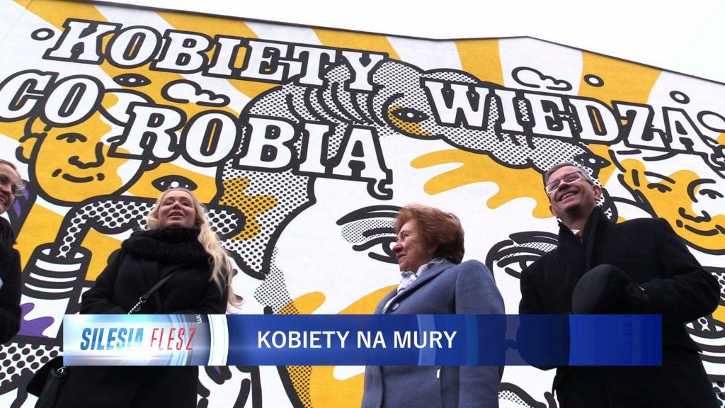 To prawdziwa bohaterka Katowic! Jolanta Wadowska-Król ma swój mural!