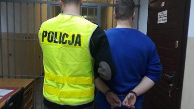 Policjanci zatrzymali mężczyzn, którzy obrzucili jajkami pomnik Jana Pawła II (fot. Policja Wielkopolska)