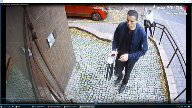 Napad na bank w Bielsku-Białej [FOTO] Rozpoznajecie tego mężczyznę?
