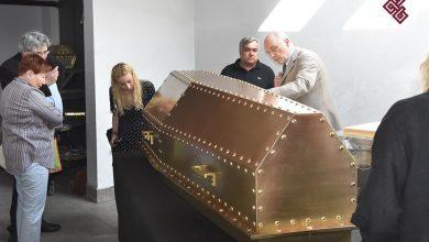 Zajmują się renowacją trumien najważniejszych osób w historii. W tym marszałka Józefa Piłsudskiego Zdjęcia: Facebook/A.T. Pracownia Konserwacji Zabytków