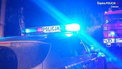 Leżał na brzuchu, w plecy miał wbity nóż. Policjanci zatrzymali 28-latkę (fot.Śląska Policja)