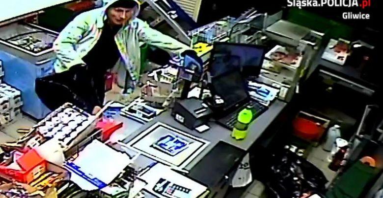 Gliwice: wybił szybę i włamał się do sklepu [FOTO] Rozpoznajecie go?