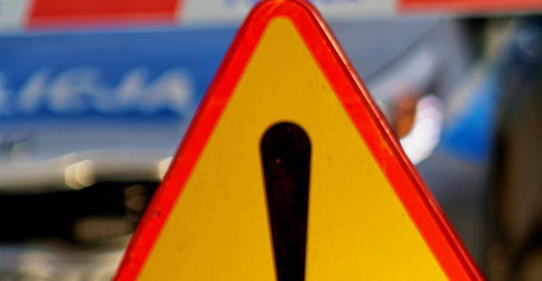 Tragiczny wypadek na DTŚ w Świętochłowicach. Zginął mężczyzna, który stał na poboczu