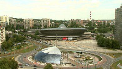 Katowice: Remont rozjazdu tramwajowego na Rondzie w Katowicach – II etap zmian w organizacji ruchu (fot. archiwum TVS)