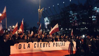100-lecie niepodległości Polski: Przez Warszawę przeszedł Marsz Dla Ciebie Polsko. W marszu nawet 200 tys.osób (fot.twitter/PiS)