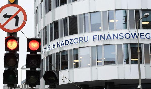 CBA wkroczyło do siedziby KNF. Funkcjonariusze przeszukują pomieszczenia Komisji Nadzoru Finansowego