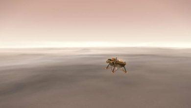 Polski KRET wylądował na Marsie! Sonda InSight przyniesie przełom w badaniu Czerwonej Planety? (fot.NASA)