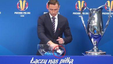 Zaskakujące zdarzenie na losowaniu Pucharu Polski. Dlaczego trzeba było powtórzyć losowanie PP? (fot.twitter/Łączy Nas Piłka)
