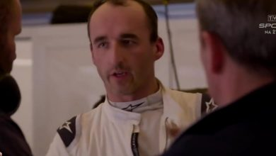 "Robert Kubica w stajni Williams? ""Na 90 procent to już dogadane"" (fot.TVP Sport)"