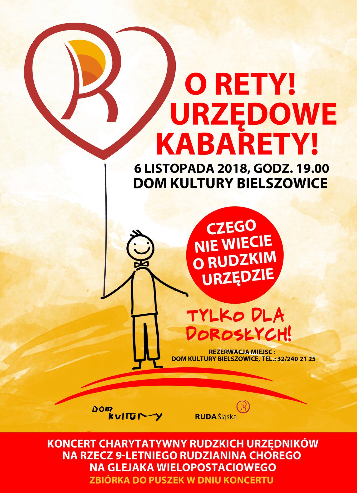 Ruda śląska O Rety Urzędowe Kabarety Urzędnicy Wystąpią