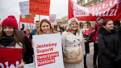 Wybierzcie, komu chcecie pomóc. Marsz Szlachetnej Paczki i Akademii Przyszłości w Katowicach (fot. mat.prasowe)
