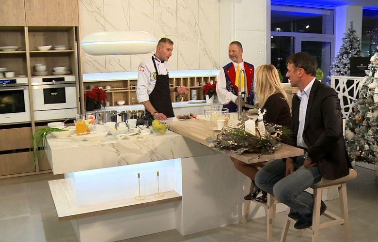 Świąteczne gotowanie z Hanysem, czyli Damian Sobek przy garach!