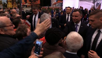 Racibórz: Selfie z Prezydentem, czyli Andrzej Duda na spotkaniu się z mieszkańcami