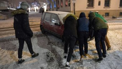 Intensywne opady śniegu. Rządowe Centrum Bezpieczeństwa wydało OSTRZEŻENIE