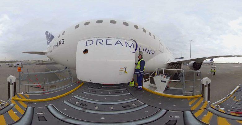 Żeby obsługiwać Dreamlinera nie trzeba pracować na lotnisku. Nie trzeba nawet przebywać w pobliżu samolotu