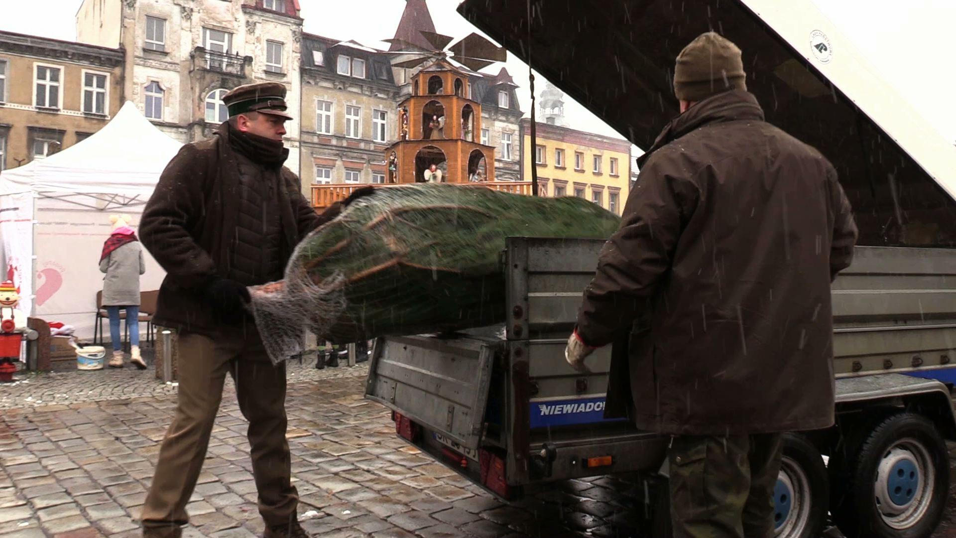 Dar za dar, czyli choinka za krew. Taką akcję zorganizowała w Mysłowicach Fundacja Kropla Życia im. Agaty Mróz-Olszewskiej