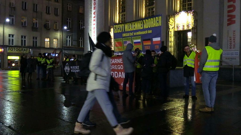 Katowice: Narodowcy w obronie węgla i kopalń? Manifestacja przeciwko COP 24