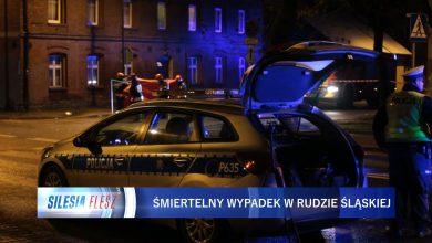Tragiczny wypadek w Rudzie Śląskiej. Jedna osoba nie żyje, trzy w stanie ciężkim przebywają w szpitalu. Sprawca nie miał prawa jazdy [WIDEO] (fot.mat.TVS)