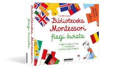 Biblioteczka Montessori to nowa propozycja wydawnictwa Egmont