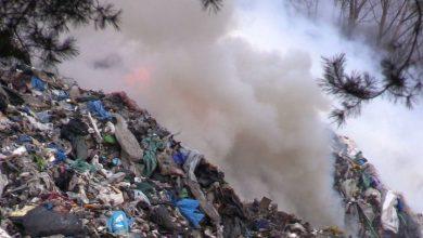 Potężny pożar składowiska opon w Żorach: mieszkańcy wciąż odczuwają jego skutki