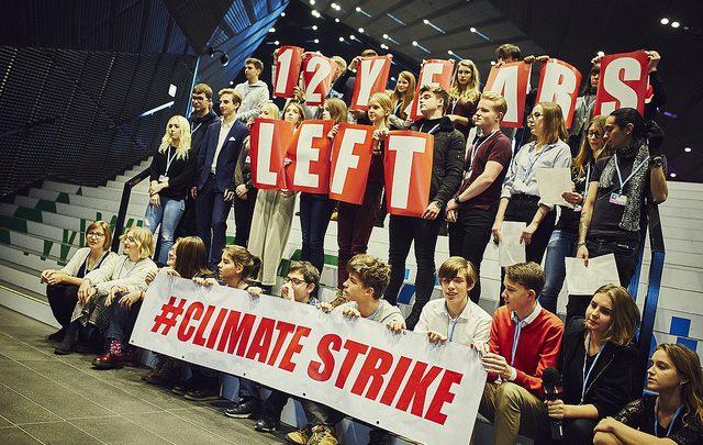Strajk dla Klimatu odbył się w momencie, w którym dobiega końca szczyt klimatyczny COP24 (fot.Greenpeace)