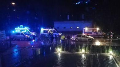 Śląskie: Śmiertelny wypadek w Łanach. Nie żyje 82-letni pieszy (fot.KMP Gliwice)