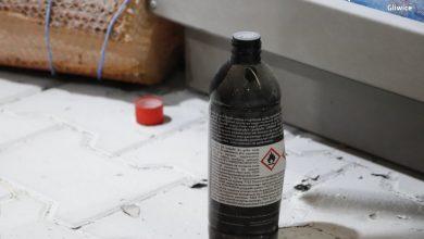 Gliwice: Podpalił stację benzynową, bo nie chcieli mu sprzedać alkoholu (fot. KMP Gliwice)