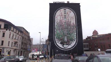 Katowice: Miasto ma kolejny mural. Nawiązuje do Szczytu Klimatycznego [WIDEO] (fot.mat.TVS)
