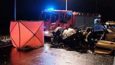 Jak on wjechał pod prąd? Policja bada przyczyny śmiertelnego wypadku w Jaworznie (fot.Paweł Jędrusik)