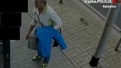 Katowice: Schowała laptopa pod kurtką i wyszła z galerii. Poznajecie ją? [ZDJĘCIA] (fot.KMP Katowice)