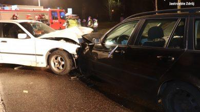 Cztery osoby ranne trafiły do szpitala. Tragiczny wypadek w Jastrzębiu Zdroju (fot.KMP Jastrzębie-Zdrój)