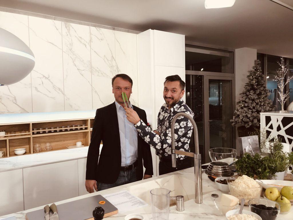 Damian Holecki i Mirosław Riedel