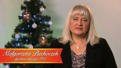 Świąteczne życzenia dyrektor Telewizji TVS