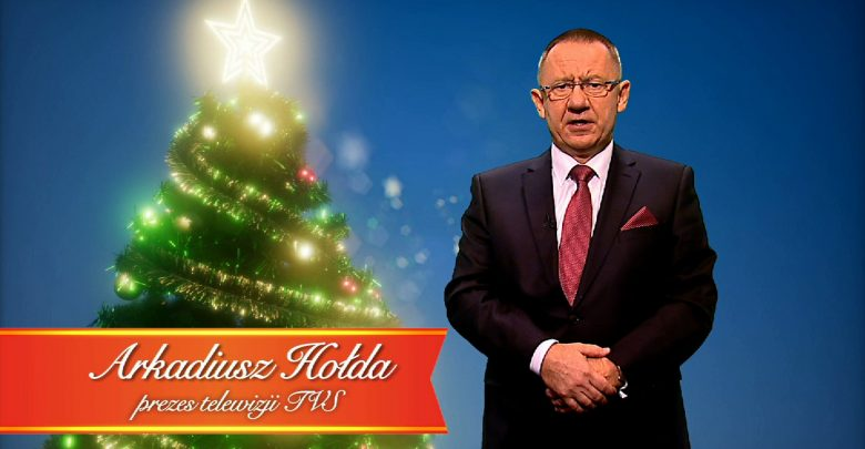Świąteczne życzenia prezesa Telewizji TVS