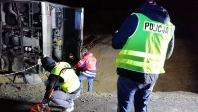 Zarzut nieumyślnego spowodowania katastrofy dla kierowcy autokaru