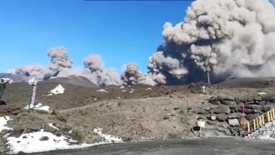 Najsilniejszy wstrząs po przebudzeniu się Etny na Sycylii. Są ranni (fot. facebook.com/Antonino Longo)