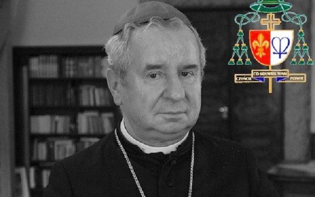 Nie żyje biskup Gerard Bernacki. Biskup pomocniczy Archidiecezji Katowickiej miał 77 lat (fot.Archidiecezja Katowicka)