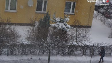 Zimowe obowiązki właścicieli posesji. Co należy robić, by nie płacić grzywny? (fot.KPP Pszczyna)