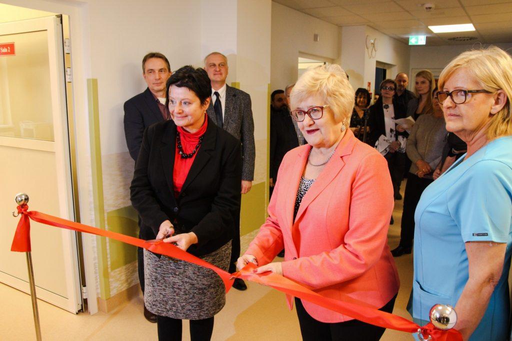 Modernizacja oddziału chirurgi dziecięcej w Chorzowie zakończona (fot.UM Chorzów)