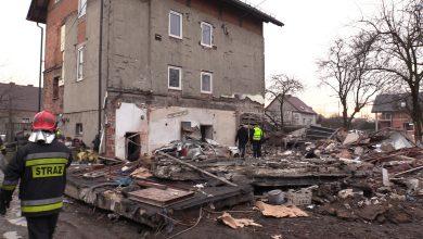 Potężny wybuch gazu w Gliwicach. W eksplozji zginął mężczyzna