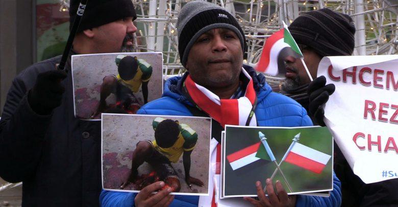 Chcą żyć jak pozostali obywatele świata. Sudańczycy chcą wolności, pokoju i sprawiedliwości. Mówili o tym dziś w Katowicach [WIDEO] (fot.mat.TVS)