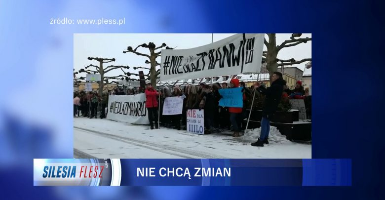 Pszczyna: Uczniowie III LO się zbuntowali! Protestują przeciwko przeniesieniu szkoły!
