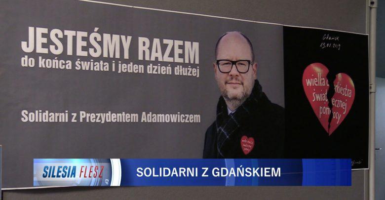Całe województwo śląskie okazuje solidarność w żałobie po śmierci prezydenta Gdańska, Pawła Adamowicza