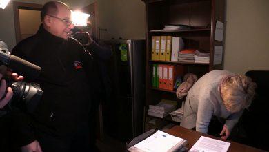 Związkowcy z Solidarności znowu odwiedzają biura poselskie na Śląsku i w Zagłębiu i pytają o PROGRAM DLA ŚLĄSKA (fot.archiwum TVS)
