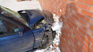 Brawura nie popłaca. Tak skończył 22-letni kierowca BMW [ZDJĘCIA] (fot.KPP Radomsko)