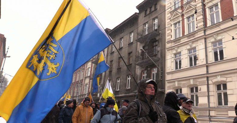 """""""Marsz na Zgodę"""" z Katowic do Świętochłowic [WIDEO] (fot.mat.TVS)"""