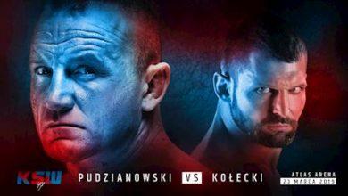 KSW 47: Kołecki vs Pudzianowski w Atlas Arenie 23 marca [BILETY] (fot.ebilet.pl)