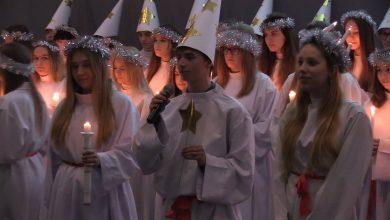 Podobno każda szwedzka dziewczyna marzy o tym, żeby choć raz odegrać rolę św. Łucji i stanąć na czele świątecznego orszaku