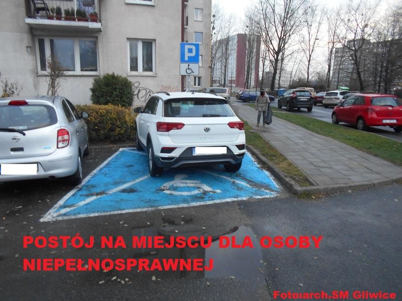 Niewiedza, niechlujstwo, czy brak wyobraźni? Oto MISTRZOWIE parkowania z Gliwic (fot. SM Gliwice)
