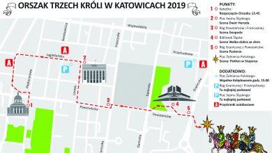 Orszak Trzech Króli w Katowicach [TRASA PRZEJŚCIA ORSZAKU] (fot.UM Katowice)